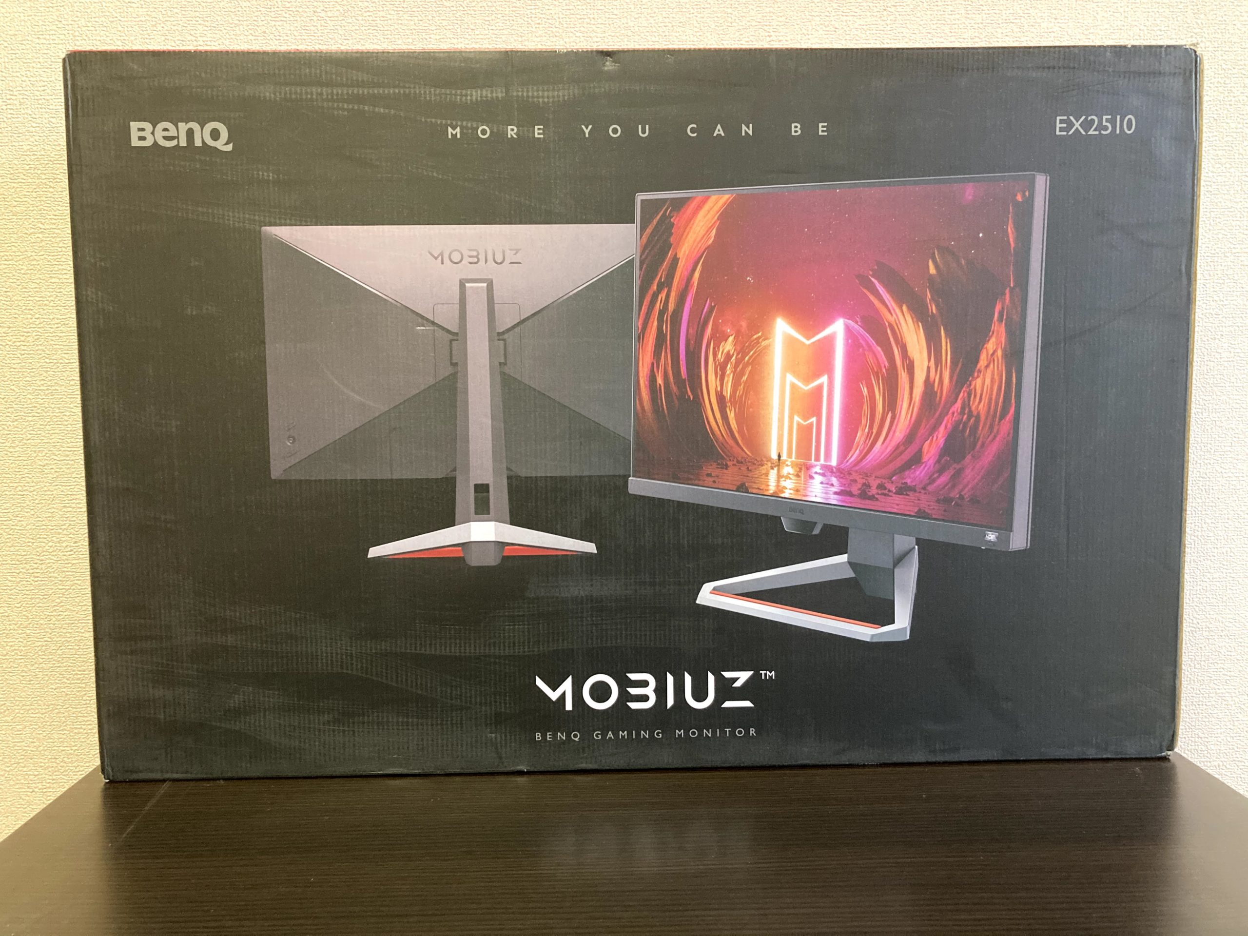 BenQ MOBIUZ EX2510 TOP