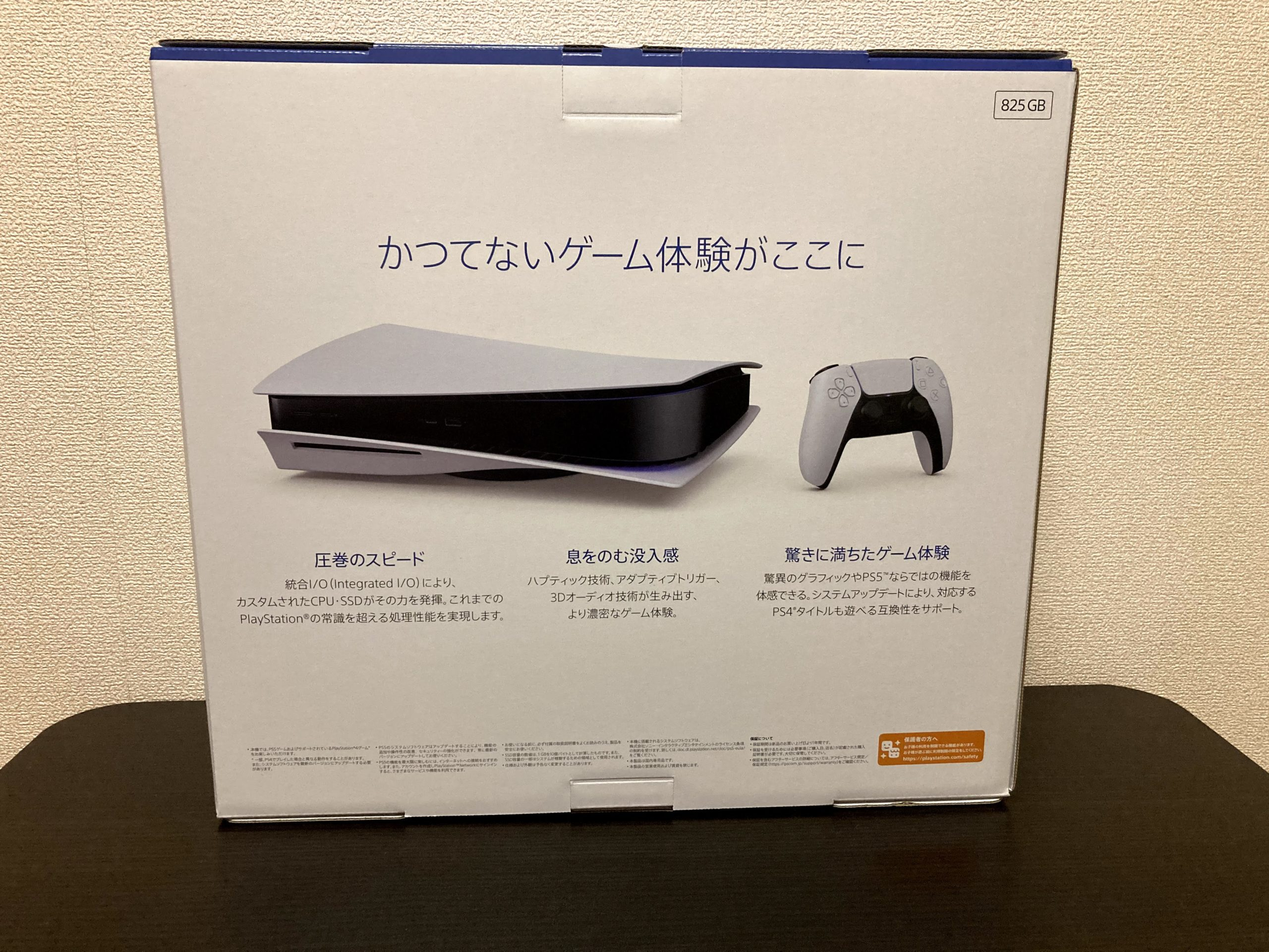 PS5 back